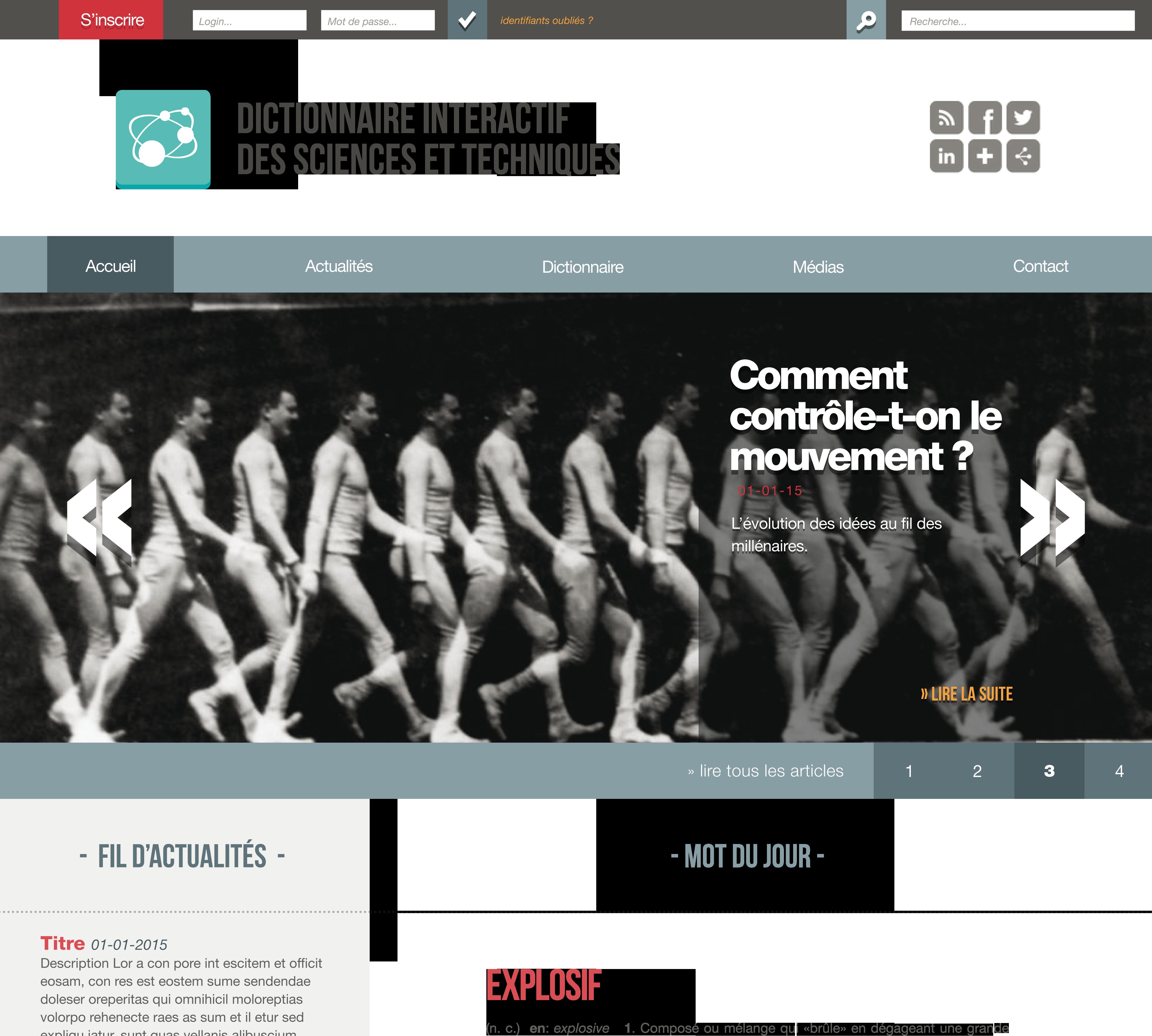 Page d'accueil de Sciences-en-ligne.net